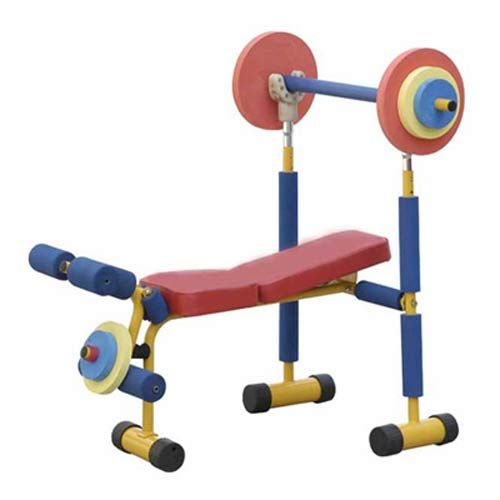 Fun And Fitness Health Systems Exercise Equipment Weight Bench Set Redmon Company Activity