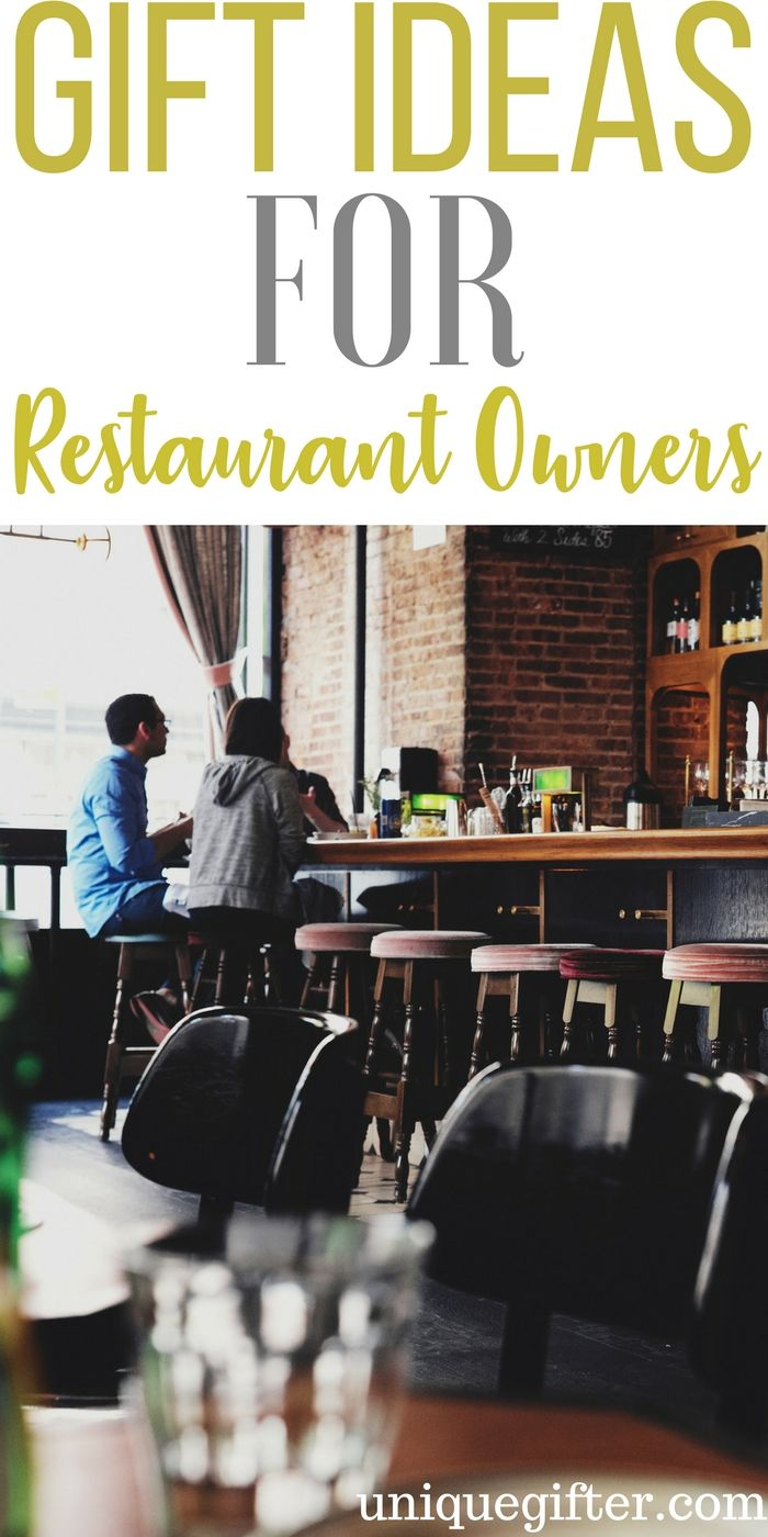 Gift Ideas For Restaurant Owners
