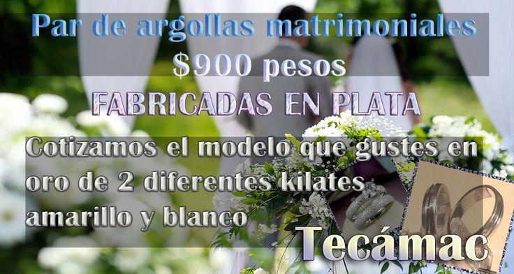 argollas de matrimonio tecamachttps://www.webselitemx.com/anillos-de-compromiso-tecamac/  Anillos de compromiso en Tecámac, desde $550 pesos envíos económicos, par de argollas matrimoniales 900 pesos Anillos de compromiso y bodas presentes en toda la república mexicana gracias a nuestro sistema de compra online y envíos económicos