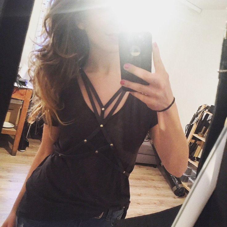 Favourite one! One Love!  #goldendustharness #bodyharness #harness #leatherharness #body #besexy #feelsexy #beyou