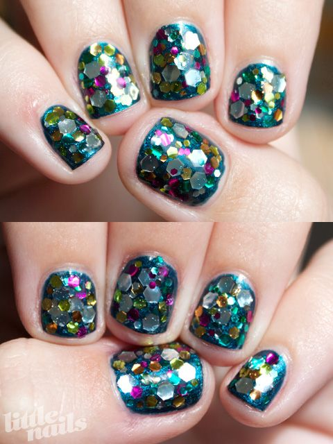 China Glaze Rodeo Fanatic, Kleancolor Afternoon PicnicBig Sparkle, Glitter Bombs, Nails Art, Bombs Nails, Makeup, Glitter Nails, Chunky Glitter, Butterlondon, Afternoon Picnics