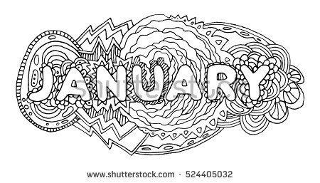 Doodle January