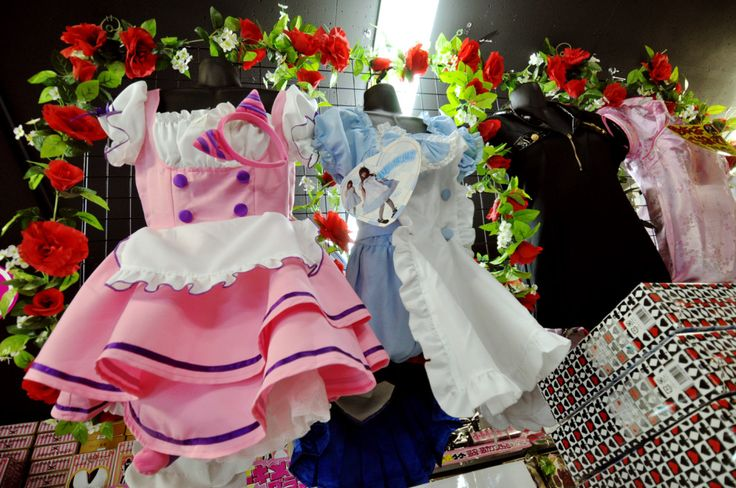 Character Kigurumi, Maid and Cosplay Costumes and Everything Ota-cute in Don Quijote (Akihabara, Tokyo)