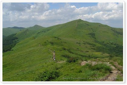 Bieszczady Mountains in #Poland.  www.simplycarpathians.com