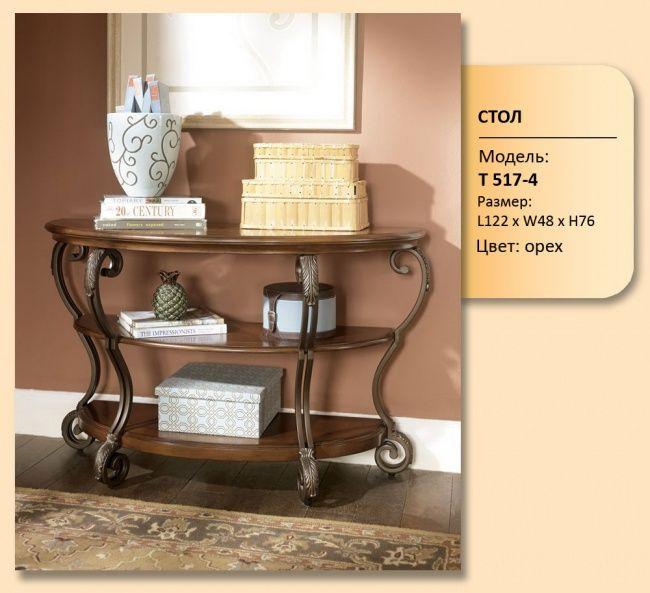 Столик консольный с ковкой из раздела Столы чайные, консольные столики