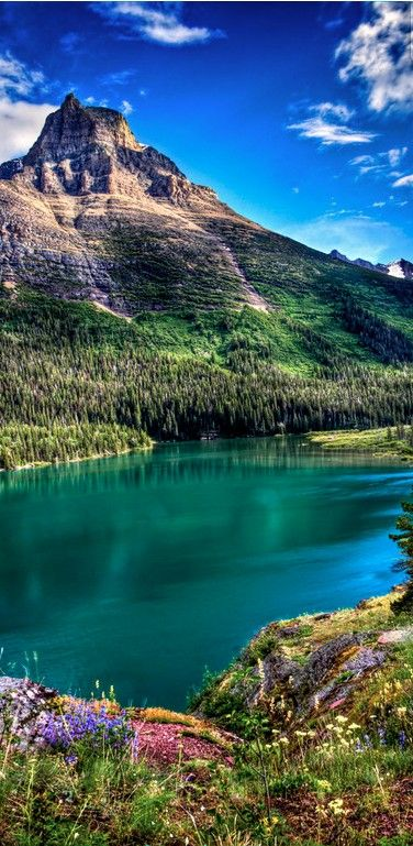 Glacier National Park in Montana: Mountain, Nature, Beautiful Places, Usa National Parks, Travel, Things, Natural, Glacier National Parks Montana, United States