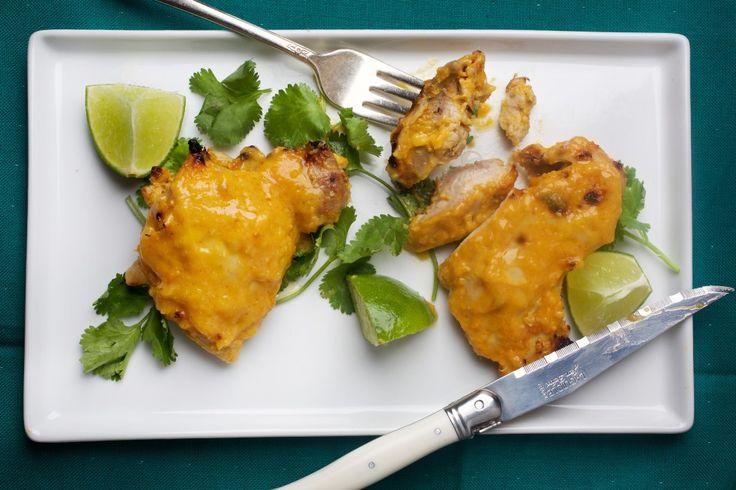 Mango-Lime Marinated Chicken Thighs