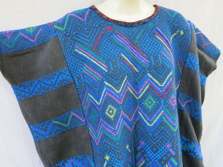 Authentic Handmade Mayan Guatemalan Embroidered Huipil from Santa Maria de Jesus   Clothing, Shoes & Accessories, Cultural & Ethnic Clothing, Latin America   eBay!