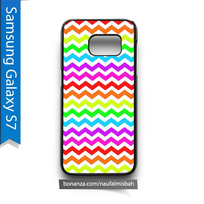 Rainbow Chevron Pattern Samsung Galaxy S7 Case Cover