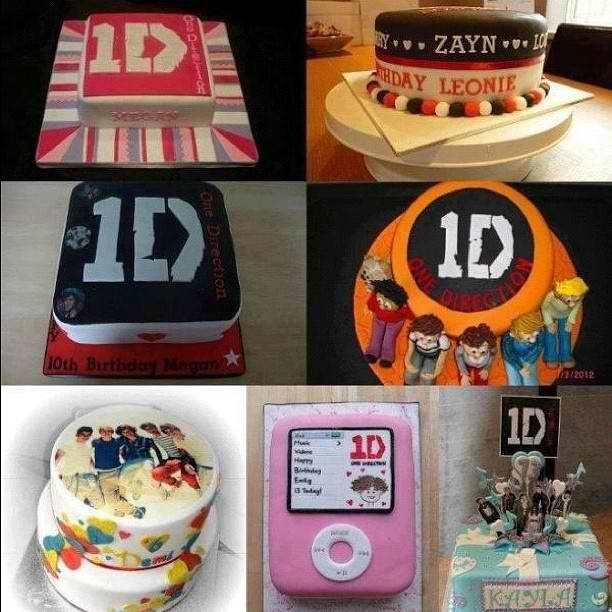 one direction cake ideas for Bailey