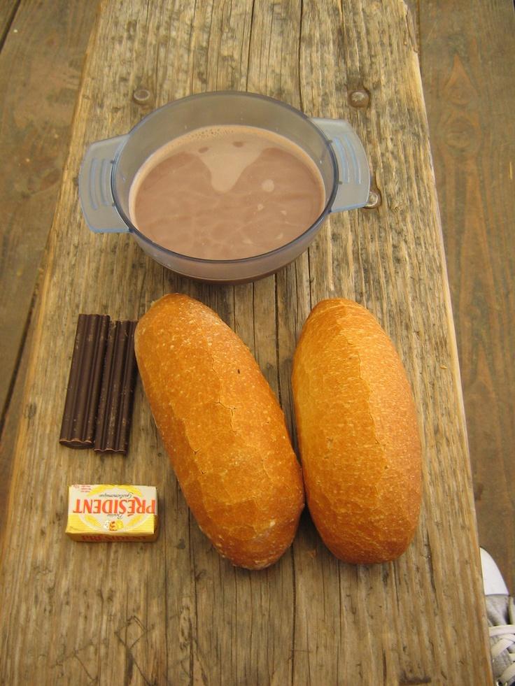 breakfast in Taizé <3