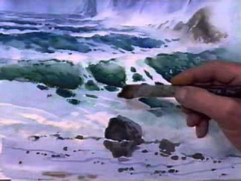 Technics and Tools to Paint Seascapes, Anatomy of Waves. Part