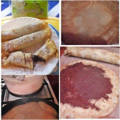 Paleo -NoCarb - Noodle-palacsinta-paleo              Hozzávalók:     250 g NoCarb Noodle tészta bármilyen jó   2 evőkanál nyílgyö...