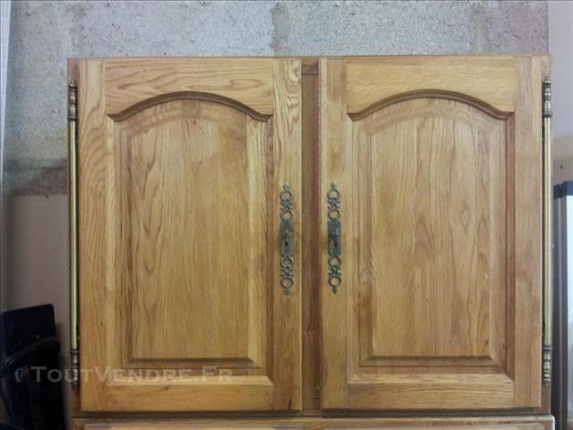 Placard haut de cuisine l 80 facade ch ne massif clair id es pour la maison - Facade meuble cuisine ikea ...