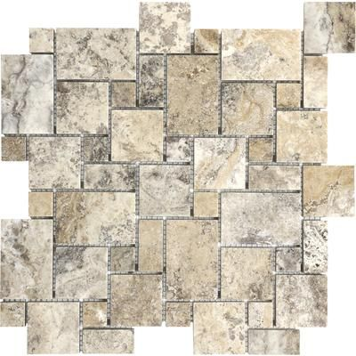 Anatolia - Filled & Honed Picasso Mini Versailles Mosaics - 76-216 - Home Depot Canada