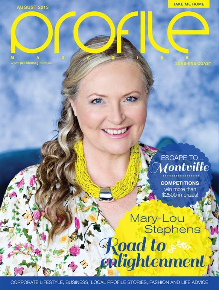 Profile Magazine cover