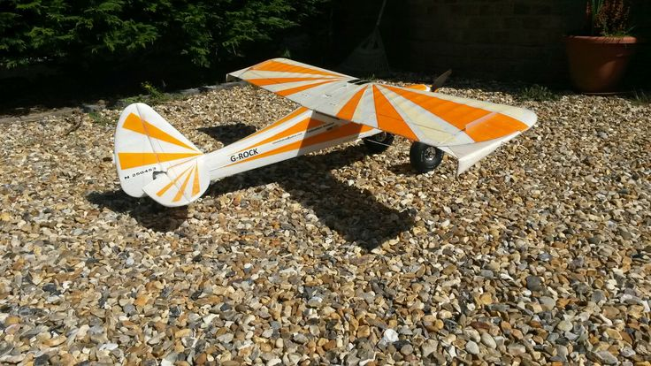 Wingtip mods to my Sunburst Funcub....