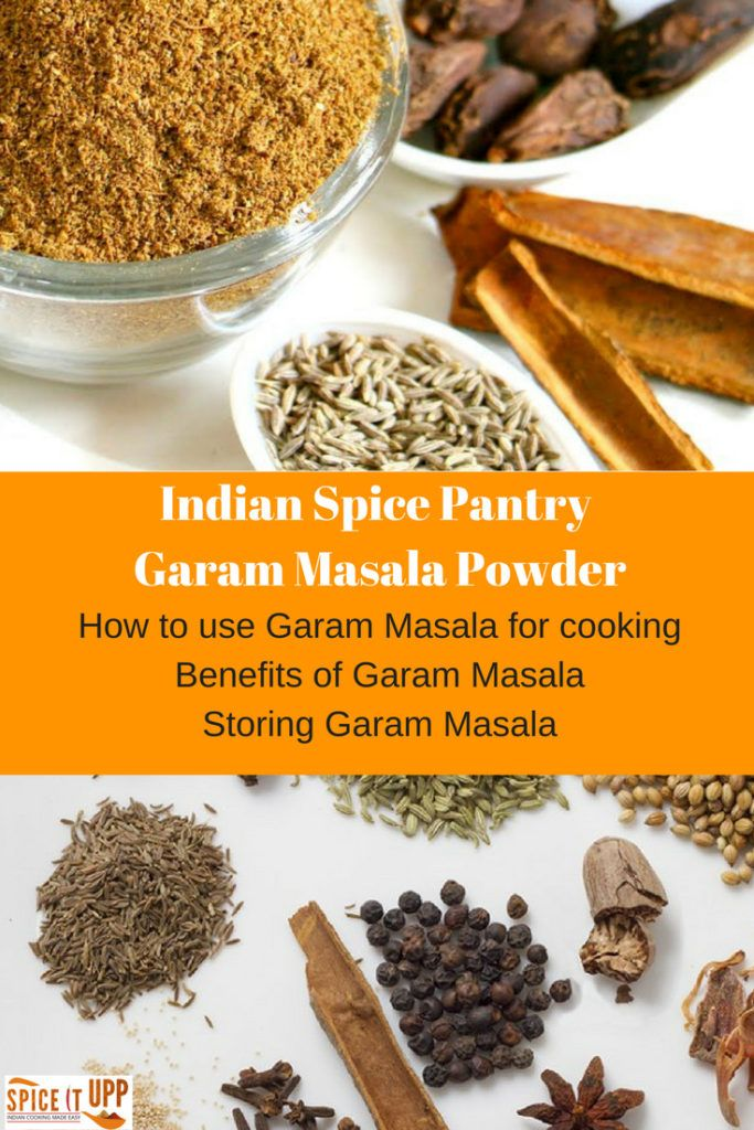 Read how to use Garam Masala and the benefits of Garam Masala along with spice buying and storing guide. A descriptive article on how to use this Indian spice for cooking not only Indian food but other tasty spicy recipes too. You will also find an easy homemade Garam Masala Recipe . The best Garam Masala Powder to buy and how to store spices.