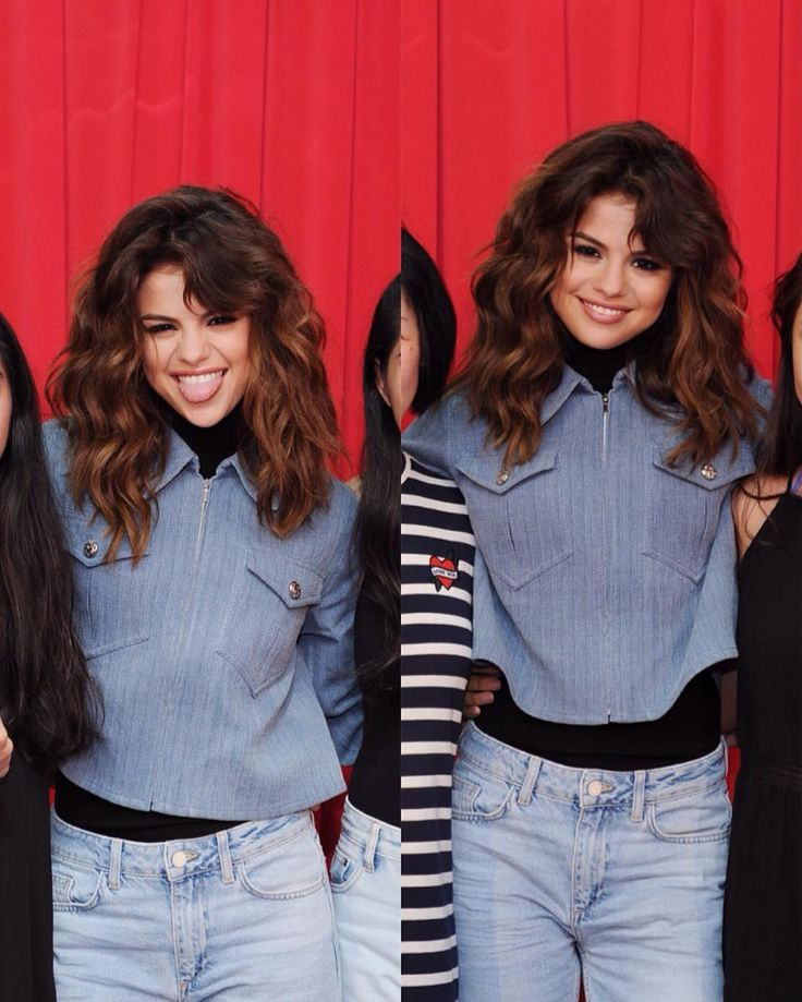 Medium Hair  + look Selena Gomez July 2016 Tour Revival Revival