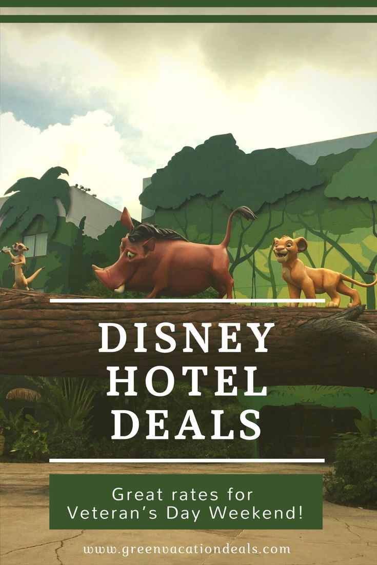 Disney World hotel deals! Promo code to save money on moderate & value Disney hotels for a Veteran's Day Weekend Orlando vacation. Budget travel at great family resorts at Walt Disney World.