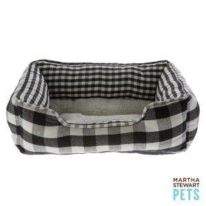 Martha Stewart Pets® Buffalo Checker Cuddler Dog Bed | Beds | PetSmart