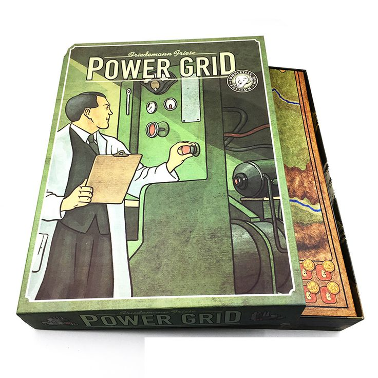 Power Grid // FREE Shipping Worldwide //    #boardgame #cardgame #game #puzzle #maze