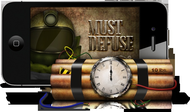 Must Defuse!  Check your luck with series of 1/2 chance challenge. ^,^