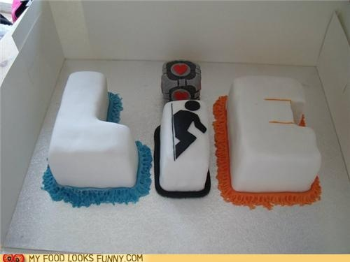 So want to make this portal cake, after all, cake is a LIE!