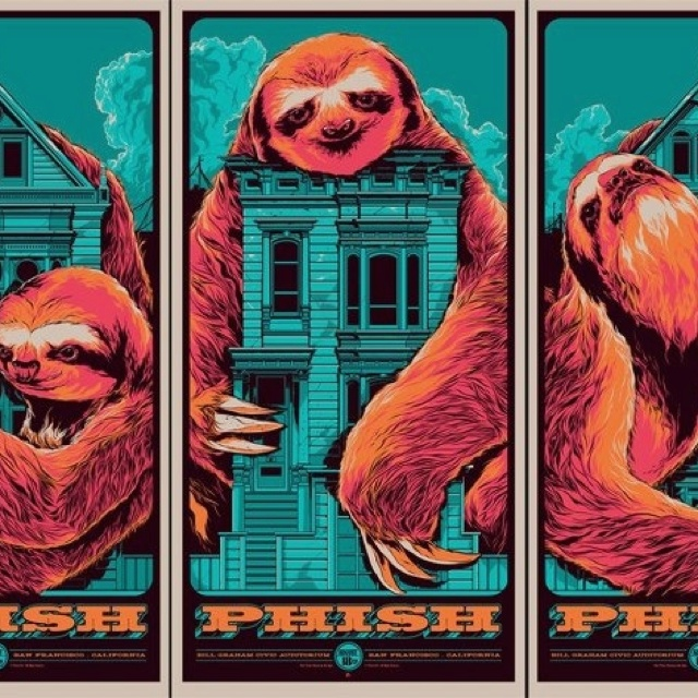 More cool Phish posters