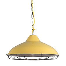 Lampa wisząca Strijp R żółta - 92852