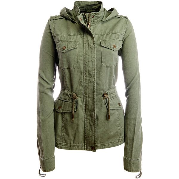 Army Green Parka Coat