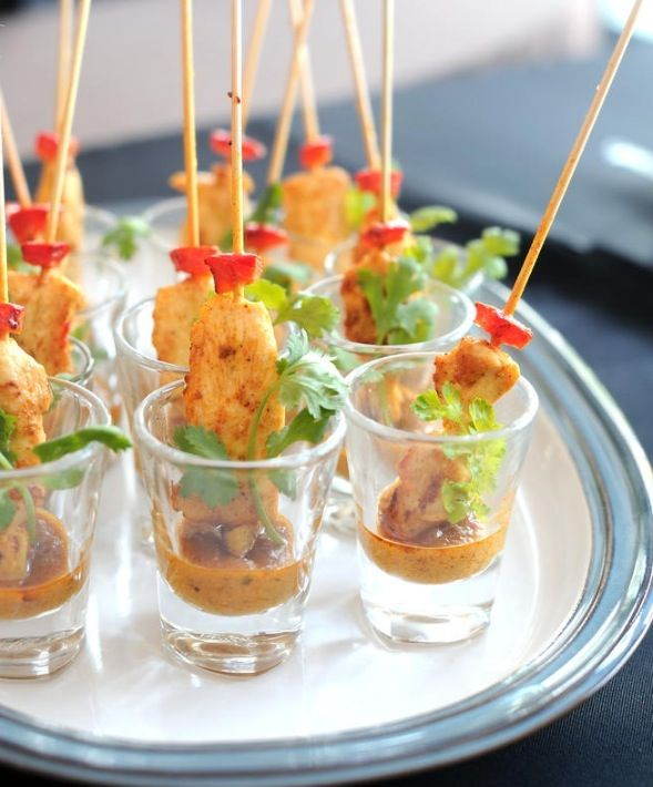 Chicken Satay- The perfect party appetizer