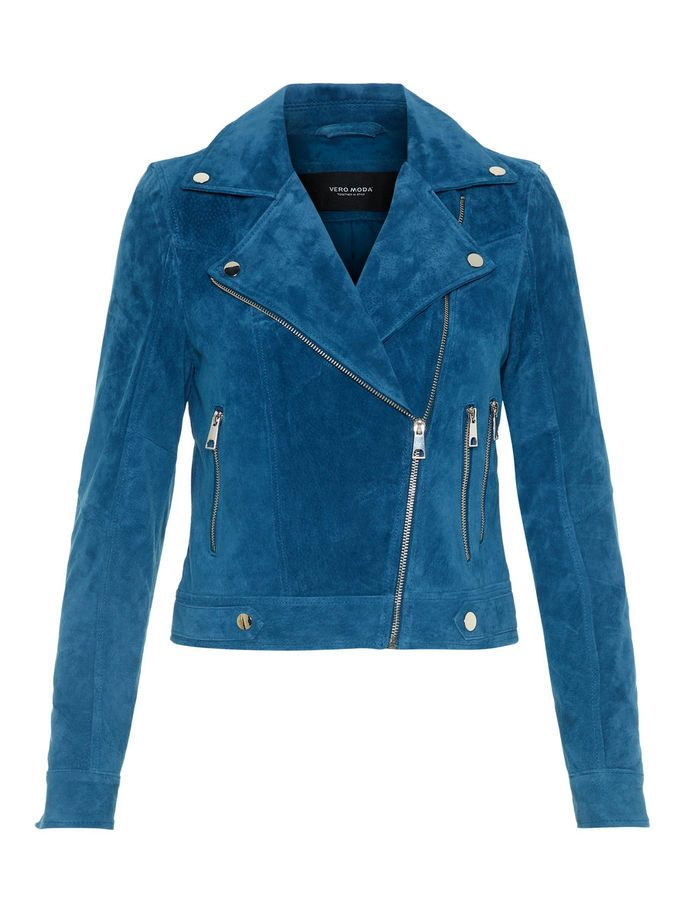 60a12ab9524 Short suede jacket in a lovely colour. #veromoda. Gå til