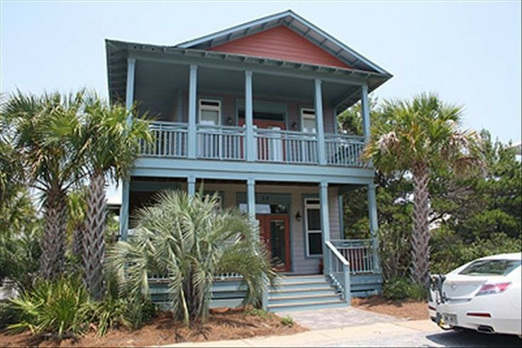 House vacation rental in Rosemary Beach from VRBO.com! #vacation #rental #travel #vrbo