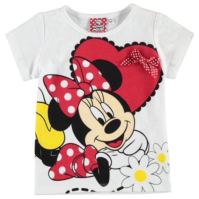 Lasten Disney Minni Hiiri t-paita
