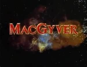 1980s tv show MacGyver