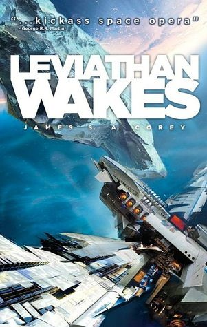 Leviathan Wakes (Expanse #1)  by James S.A. Corey. Just finished this - looking forward to starting Caliban's War.