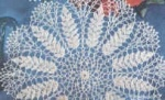 Free doily pattern.   I LOVE this 'wheat' pattern!!
