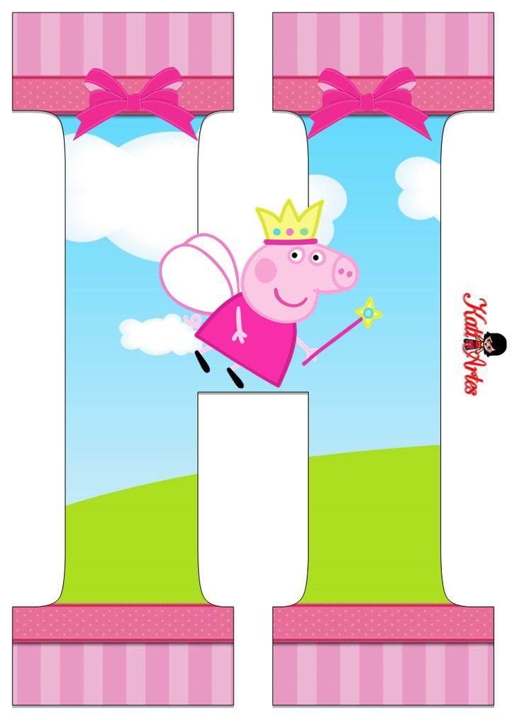 Escuela infantil castillo de Blanca: ABECEDARIO DE PEPPA PIG