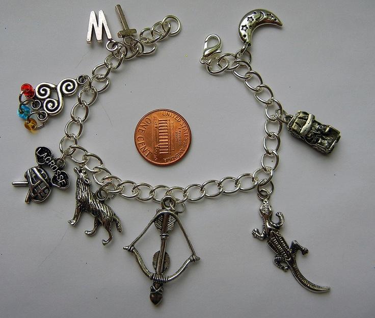 Wolf Charm Bracelet: Teen Wolf Jewelry Stiles
