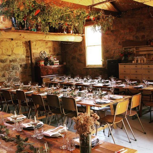 A VIC country wedding venue, The Diggers Store offers multiple charming spaces for creative couples to host their big day.