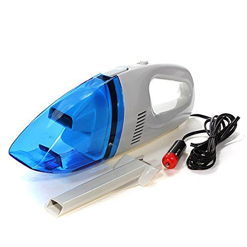AUDEW New 12V Mini Handheld Car Auto Wet Dry Vacuum Cleaner Portable Rechargeable 60W