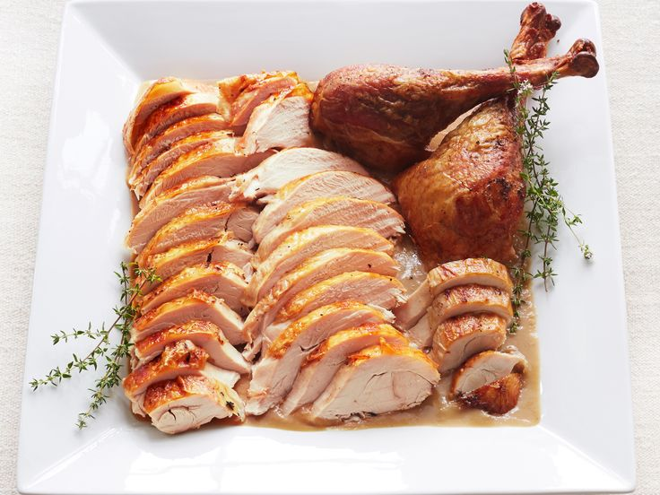Make ahead! Roast Turkey and Gravy with Onions and Sage Recipe : Ina Garten : Food Network - FoodNetwork.com