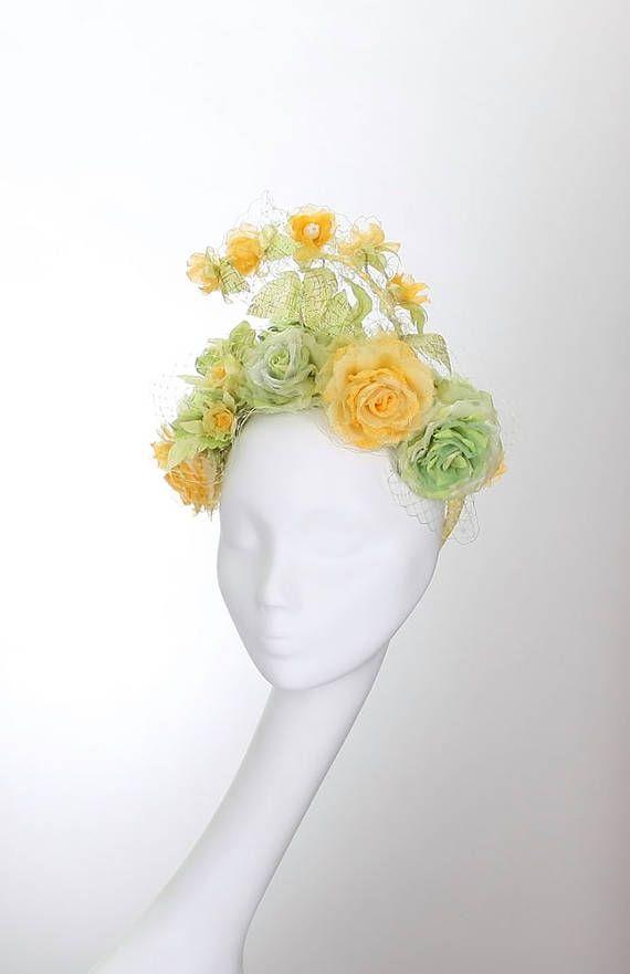 Свадебный чародей, Свадебный головной убор, венок на голову, венки & диадемы, Королевские Ackot, Дерби шляпа