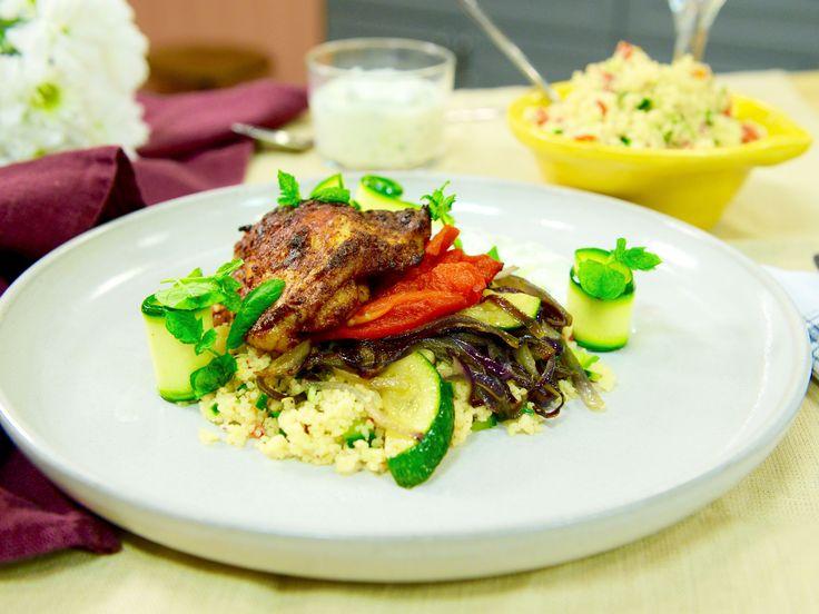 Paprikarostad kyckling med couscous | Recept fr�n K�ket.se