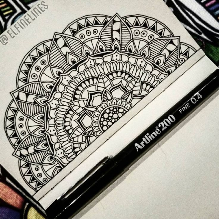 25 Best Ideas About Mandala Drawing On Pinterest