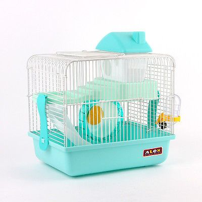 Combo Alex Small Dwarf Hamster Rodent Cage Playhouse Four Colors Gnawing Stone | eBay