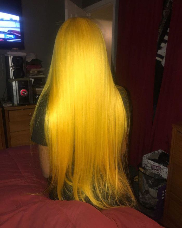 Mustard Hair Is The Unexpected Way To Warm Up Your Hair This Spring Hair Styles Curly Hair Styles Long Hair Styles