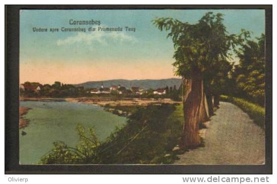Caransebes - Promenada Teus - interbelica