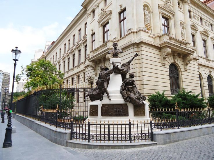 Architecture in #Bucharest Old Town.